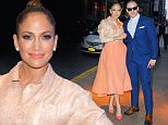 Mandatory Credit: Photo by Buzz Foto/REX Shutterstock (5182682t)\n Jennifer Lopez, Casper Smart\n Gender Equality event at the Four Seasons Restaurant, New York, America - 25 Sep 2015\n \n