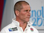 LONDON, ENGLAND - SEPTEMBER 26:  Stuart Lancaster, Head Coach of England looks on prior to the 2015 Rugby World Cup Pool A match between England and Wales at Twickenham Stadium on September 26, 2015 in London, United Kingdom.  (Photo by David Rogers/Getty Images)