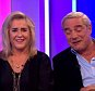 The One Show 21/09/2015 Steph and Dom of Gogglebox thrown out of green room for drinking too many cocktails