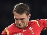 Wales' Dan Biggar kicks a penalty during the Rugby World Cup match at Twickenham Stadium, London. PRESS ASSOCIATION Photo. Picture date: Saturday September 26, 2015. See PA story RUGBYU England. Photo credit should read: Andrew Matthews/PA Wire. RESTRICTIONS: Editorial use only. Strictly no commercial use or association without RWCL permission. Still image use only. Use implies acceptance of Section 6 of RWC 2015 T&Cs at: http://bit.ly/1MPElTL Call +44 (0)1158 447447 for further info.