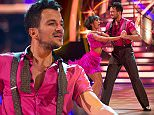 WARNING: Embargoed for publication until 19:45:00 on 26/09/2015 - Programme Name: Strictly Come Dancing 2015 - TX: 26/09/2015 - Episode: n/a (No. n/a) - Picture Shows: **DRESS REHEARSAL** **STRICTLY EMBARGOED FOR PUBLICATION UNTIL 19:45 HRS ON SATURDAY 26TH SEPTEMBER 2015** Peter Andre, Janette Manrara - (C) BBC - Photographer: Guy Levy