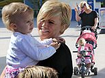 Kerry Katona pictured out with her family having a great time at Peppa Pig World.jpg
