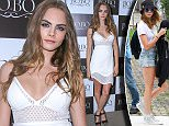 Sao Paulo, Brazil - English fashion model Cara Delevingne looks amazing white promoting BoBÙ store in Sao Paulo, Brazil\nAKM-GSI      September 25, 2015\nTo License These Photos, Please Contact :\nSteve Ginsburg\n(310) 505-8447\n(323) 423-9397\nsteve@akmgsi.com\nsales@akmgsi.com\nor\nMaria Buda\n(917) 242-1505\nmbuda@akmgsi.com\nginsburgspalyinc@gmail.com