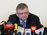 epa04744259 Russian journalist Leonid Sviridov (L) and Russian Ambassador to Poland Sergey Andreev (R) deliver a press conference at the Russian Embassy in Warsaw, Poland, 12 May 2015. Sviridov announced that he will appeal to the Head of the Foreigners Office against Masovian Voivode decision to revoke him a residence permit in Poland and in the EU. Earlier in October 2014, Polish Foreign Ministry at the request of the Internal Security Agency (ABW), had refused his accreditation to Polish FM and initiated proceeding to revoke Sviridovís residency permit in Poland.  EPA/PAWEL SUPERNAK POLAND OUT