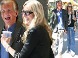 Beverly Hills, CA - George Hamilton and Alana Stewart are all smiles as they enjoy lunch at M Cafe Restaurant in Beverly Hills this afternoon.\n AKM-GSI September 25, 2015\n \n To License These Photos, Please Contact :\n \n Steve Ginsburg\n (310) 505-8447\n (323) 423-9397\n steve@akmgsi.com\n sales@akmgsi.com\n \n or\n \n Maria Buda\n (917) 242-1505\n mbuda@akmgsi.com\n ginsburgspalyinc@gmail.com