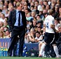Hands tied: Harry Redknapp (left) has struggled to improve his squad this summer