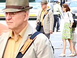 142932, Steve Martin seen out and about with Anne Stringfield in NYC. New York, New York - Friday September 25, 2015. Photograph: © PacificCoastNews. Los Angeles Office: +1 310.822.0419 sales@pacificcoastnews.com FEE MUST BE AGREED PRIOR TO USAGE