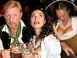 Boris Becker and wife Lilly visit the exclusive Kaefer Tent of the traditional original Oktoberfest in Munich, Germany\n\nPictured: Boris Becker and wife Lilly Becker\nRef: SPL1137363  260915  \nPicture by: Matt Summer\n\nSplash News and Pictures\nLos Angeles: 310-821-2666\nNew York: 212-619-2666\nLondon: 870-934-2666\nphotodesk@splashnews.com\n