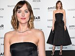 MILAN, ITALY - SEPTEMBER 26:  Dakota Johnson arrives at amfAR Milano 2015 at La Permanente on September 26, 2015 in Milan, Italy.  (Photo by Stefania D'Alessandro/Getty Images for amfAR)