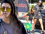 Kourtney Kardashian wears a cheeky pair of shorts on her way to an appointment with her son mason\n\nPictured: Kourtney Kardashian and Mason Disick\nRef: SPL1137039  260915  \nPicture by: Fern / Splash News\n\nSplash News and Pictures\nLos Angeles: 310-821-2666\nNew York: 212-619-2666\nLondon: 870-934-2666\nphotodesk@splashnews.com\n