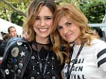 NEW YORK, NY - SEPTEMBER 26:  (Exclusive Coverage) Sophia Bush and Connie Britton attend 2015 Global Citizen Festival to end extreme poverty by 2030 in Central Park on September 26, 2015 in New York City.  (Photo by Kevin Mazur/Getty Images for Global Citizen)