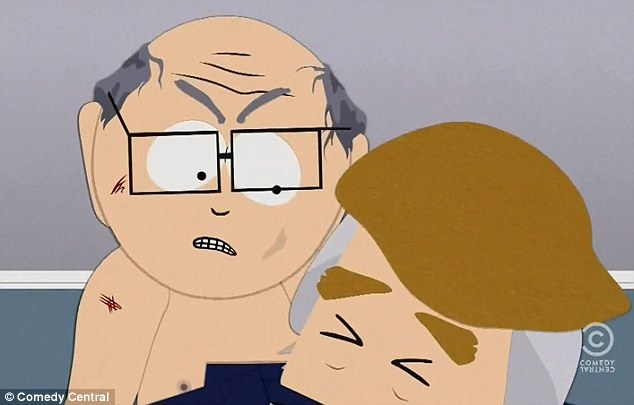 Shocking: Satirical cartoon South Park has aired an inflammatory new episode which mocks Donald Trump before showing the presidential candidate being raped to death in a shocking scene