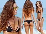 Rio de Janeiro, Brazil - Brazilian fashion model Izabel Goulart shows off her bikini body as she spends the day at Ipanema Beach in Rio de Janeiro, Brazil\nAKM-GSI      September 26, 2015\nTo License These Photos, Please Contact :\nSteve Ginsburg\n(310) 505-8447\n(323) 423-9397\nsteve@akmgsi.com\nsales@akmgsi.com\nor\nMaria Buda\n(917) 242-1505\nmbuda@akmgsi.com\nginsburgspalyinc@gmail.com