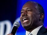 Republican presidential candidate, retired neurosurgeon Ben Carson speaks during the Values Voter Summit, held by the Family Research Council Action, Friday, Sept. 25, 2015, in Washington. ( AP Photo/Jose Luis Magana)