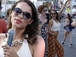 Life Is Beautiful Festival in Downtown Las Vegas\nFeaturing: Rosario Dawson\nWhere: Las Vegas, Nevada, United States\nWhen: 26 Sep 2015\nCredit: Judy Eddy/WENN.com