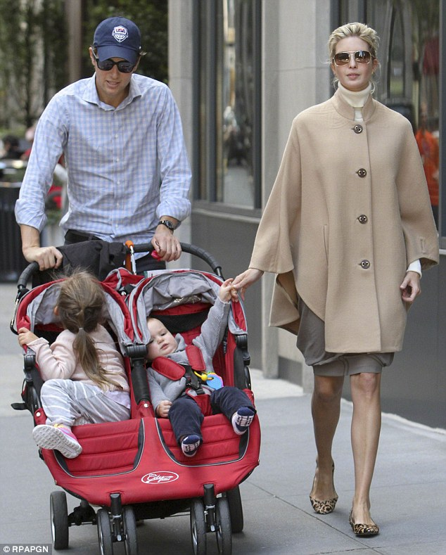 Growing family: The couple, who are pictured in Manhattan last October, live in New York with their brood