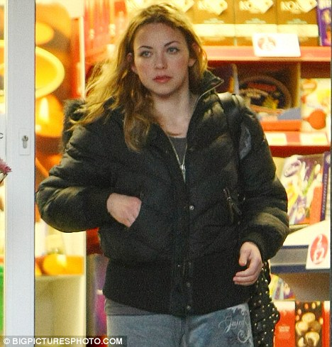 Casual Wednesday? Charlotte Church looked more than a little scruffy as she popped to the shops in Wales yesterday