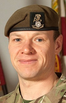 Sergeant Gareth Thursby (left) and Private Thomas Wroe (right) died this week