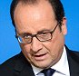 epa04946066 French President Francois Hollande gives a press conference at the end of an extraordinary EU Summit on the current migration and refugee crisis in Europe, in Brussels, Belgium, 24 September 2015.  EPA/STEPHANIE LECOCQ