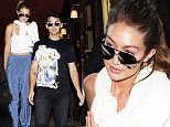Gigi Hadid and Joe Jonas out together in Paris\nFeaturing: Gigi Hadid, Joe Jonas\nWhere: Paris, France\nWhen: 27 Sep 2015\nCredit: WENN.com\n**Not available for publication in France**