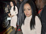 Picture Shows: Karrueche Tran  September 27, 2015\n \n Karrueche Tran and Memphis Depay are spotted arriving at Suburbia bar and club in Manchester, UK. \n \n Karrueche was booked for a personal appearance at the club and was joined by the Manchester United footballer, sparking rumours of a relationship. \n \n Non-Exclusive\n WORLDWIDE RIGHTS\n \n Pictures by : FameFlynet UK © 2015\n Tel : +44 (0)20 3551 5049\n Email : info@fameflynet.uk.com