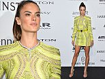 MILAN, ITALY - SEPTEMBER 26:  Alessandra Ambrosio arrives at amfAR Milano 2015 at La Permanente on September 26, 2015 in Milan, Italy.  (Photo by Stefania D'Alessandro/Getty Images for amfAR)
