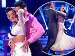 ****Ruckas Videograbs****  (01322) 861777\n*IMPORTANT* Please credit BBC for this picture.\n26/09/15\nStrictly Come Dancing \nGrabs from tonights show\nOffice  (UK)  : 01322 861777\nMobile (UK)  : 07742 164 106\n**IMPORTANT - PLEASE READ** The video grabs supplied by Ruckas Pictures always remain the copyright of the programme makers, we provide a service to purely capture and supply the images to the client, securing the copyright of the images will always remain the responsibility of the publisher at all times.\nStandard terms, conditions & minimum fees apply to our videograbs unless varied by agreement prior to publication.
