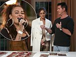 *** MANDATORY BYLINE TO READ: Syco/Thames/Corbis/Dymond*** ***EMBARGOED UNTIL 00.01 SUNDAY 27TH SEPTEMBER 2015*** X Factor contestants and judges are seen during Bootcamp for the 9th show of the 2015 series. Pictured: Judges Deliberating