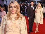 Mandatory Credit: Photo by David Fisher/REX Shutterstock (5183026b)  James Argent and Lydia Bright  'The Intern' film premiere, London, Britain - 27 Sep 2015