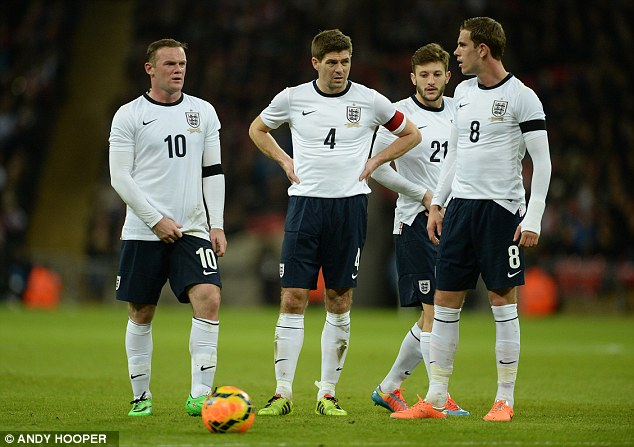 Just Do It: Nike are set to unveil England's kit for the World Cup next week