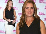 NEW YORK, NY - SEPTEMBER 27:  Brooke Shields attends the Broadway opening night performance of 'Spring Awakening' at the Brooks Atkinson Theatre on September 27, 2015 in New York City.  (Photo by Walter McBride/Getty Images)
