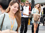 Mandatory Credit: Photo by Aflo/REX Shutterstock (5183010c)\n Jenson Button, Jessica Michibata\n Jenson Button and Jessica Michibata out and about in Suzuka, Japan - 27 Sep 2015\n \n
