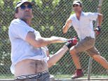 Picture Shows: Jon Hamm  September 26, 2015\n \n 'Mad Men' actor Jon Hamm and some friends are seen playing a game of baseball in Los Angeles, California. Jon finally won his first Emmy, Best Actor In A Drama Series, for his role on 'Mad Men'. \n \n Non Exclusive\n UK RIGHTS ONLY\n \n Pictures by : FameFlynet UK � 2015\n Tel : +44 (0)20 3551 5049\n Email : info@fameflynet.uk.com