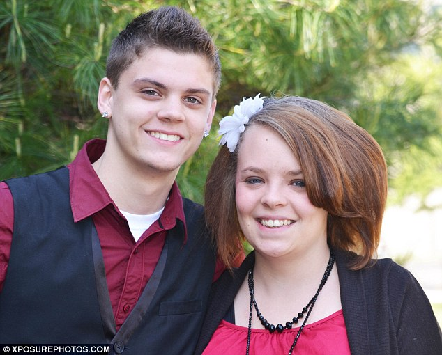 Sensible: Catelynn and her fiance are considered the most sensible couple on the reality TV show Teen Mom