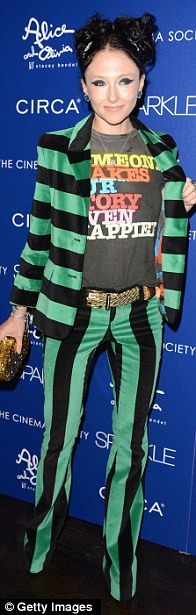 On trend: Designer Stacey Bendet all rock their individual styles