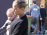 16 SEPTEMBER 2015 SYDNEY \nAUSTRALIA\nEXCLUSIVE PICTURES\nLara & Sam Worthington pictured enjoying a long leisurely walk with Rocket Zot through Sydney. \n*No web without clearance*\nMUST CALL PRIOR TO USE \n+61 2 9211-1088. \nNote: All editorial images subject to the following: For editorial use only. Additional clearance required for commercial, wireless, internet or promotional use.Images may not be altered or modified. Matrix Media Group makes no representations or warranties regarding names, trademarks or logos appearing in the images.