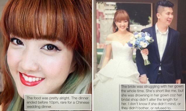 Juli Bun Bun posts scathing updates on friend's wedding on social media