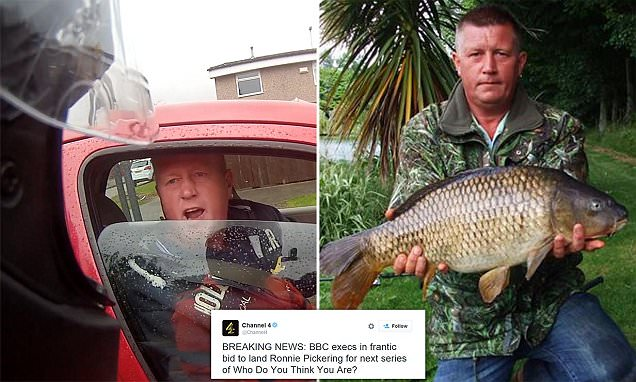 'I'm Ronnie Pickering': Driver fumes in road rant
