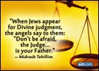 When Jews Appear For Divine Judgment