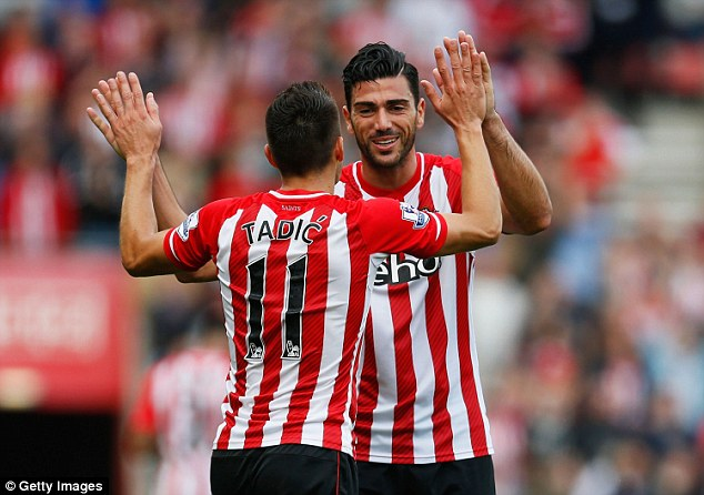 Graziano Pelle cannot stop scoring at the moment for Southampton and will aim to do so against Stoke City