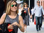 Picture Shows: Sophia Bush, Jesse Lee Soffer  September 27, 2015\n \n 'Chicago PD' actors Sophia Bush and Jesse Lee Soffer spotted out holding hands in New York City, New York. The couple have broken up and gotten back together many times but it looks like they are currently back together.\n \n Non-Exclusive\n UK RIGHTS ONLY\n \n Pictures by : FameFlynet UK © 2015\n Tel : +44 (0)20 3551 5049\n Email : info@fameflynet.uk.com