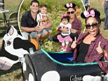 """LONG VALLEY, NJ - SEPTEMBER 26:  (EXCLUSIVE COVERAGE) Nicole """"Snooki"""" Polizzi attends a joint birthday party for Lorenzo And Giovanna at ORT Farms on September 26, 2015 in Long Valley, New Jersey.  (Photo by Jamie McCarthy/Getty Images)"""