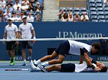 NEW YORK, NY - SEPTEMBER 12:  Pierre-Hugues Herbert and Nicolas Mahut of France celebrate after defeating Jamie Murray of Great Britain and John Peers of Australia during their Men's Doubles Final match on Day Thirteen of the 2015 US Open at the USTA Billie Jean King National Tennis Center on September 12, 2015 in the Flushing neighborhood of the Queens borough of New York City.  (Photo by Clive Brunskill/Getty Images)