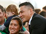 LONDON, ENGLAND - SEPTEMBER 11:  Sonny Bill Williams of the New Zealand All Blacks meets fans following their RWC 2015 Welcome Ceremony at the Tower of London on September 11, 2015 in London, England.  (Photo by Phil Walter/Getty Images)