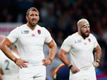 LONDON, ENGLAND - SEPTEMBER 26:  Chris Robshaw of England looks on during the 2015 Rugby World Cup Pool A match between England and Wales at Twickenham Stadium on September 26, 2015 in London, United Kingdom.  (Photo by Shaun Botterill/Getty Images)