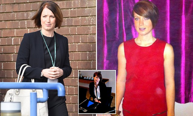 Female police officer is sacked for gross misconduct after having fling with criminal