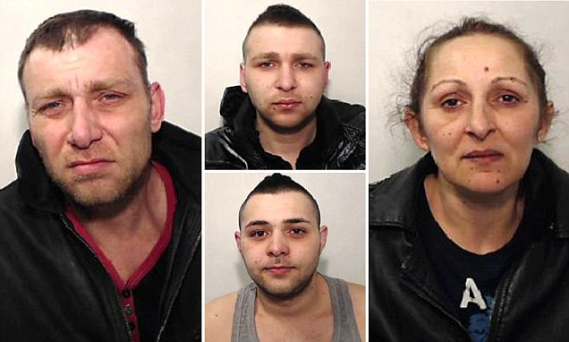 Hungarian crime family who moved to Britain and kept two women in their home as sex slaves