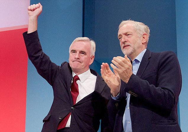 John McDonnell unveils Labour's socialist vision with attacks on the rich and big business