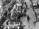 Demonstrators marching down a road during the General Strike, which was organised by the Trade Union Congress in support of the miners strike to resist wage cuts.   In 1925 the mine-owners announced that they intended to reduce the miner's wages. The General Council of the Trade Union Congress responded to this news by promising to support the miners in their dispute with their employers. The Conservative Government, decided to intervene, and supplied the necessary money to bring the miners' wages back to their previous level. This event became known as Red Friday because it was seen as a victory for working class solidarity.  The Prime Minister, Stanley Baldwin, stated that this subsidy to the miners' wages would only last 9 months. In the meantime, the government set up a Royal Commission under the chairmanship of Sir Herbert Samuel, to look into the problems of the Mining Industry. The Samuel Commission published its report in March 1926. It recognised that the industry needed to b