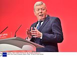 Mandatory Credit: Photo by Ray Tang/REX Shutterstock (5183879y)  Alan Johnson  Labour Party Annual Conference, Brighton, Britain - 28 Sep 2015